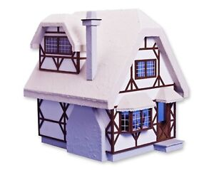 Aster Cottage Dollhouse Kit by Greenleaf Dollhouses