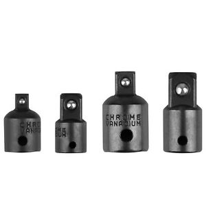 """4-pack 3/8"""" to 1/4"""" 1/2 inch Drive Ratchet Socket Adapter Reducer Air Impact Set"""