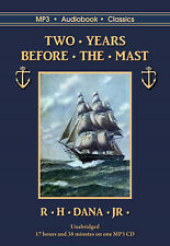 Two Years Before the Mast - MP3CD Audiobook in DVD case