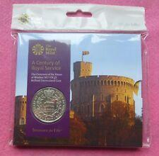 El centenario de la Casa de Windsor 2017 Reino Unido £ 5 moneda Pack