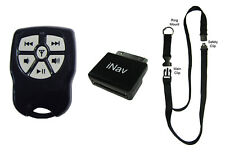 iNav Boss V2 wireless remote control with Lanyard for iPod, Nano, iPhone