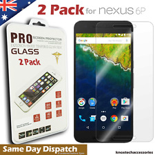 2X Ultraclear Genuine Tempered Glass Screen Protector for Huawei Google Nexus 6P