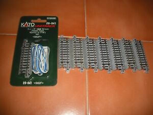 N  Kato  Unitrack  Feeder  Track  and  S64  Straights  (x8  pieces)
