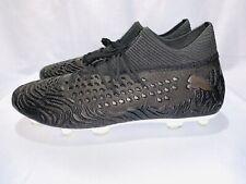 Puma Future 19.1 Netfit Fg Eclipse Soccer Cleats Black/White Sz 11.5 105531 02