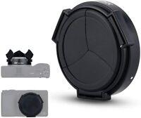 JJC Auto Open Close Camera Lens Cap Protector Cover for Ricoh GR III GR3 GRIII