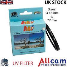 JSP UV ULTRAVIOLET Filtre objectif protectrice 55mm pour Canon Nikon Tamron