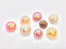 Vintage Glass Lustre Buttons