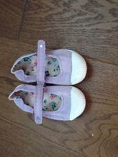 Next Girls Canvas Summer Shoes From Next Size 6