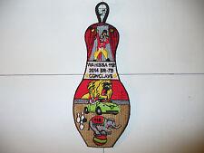 OA Wahissa 118,X-47,2014 SR-7b DEL,Circus Bowling Pin,pp, Old Hickory Council,NC