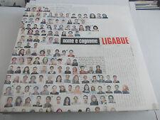LIGABUE NOME E COGNOME VINILE NERO  LP ORIGINALE SIGILLATO LIMITATO