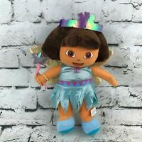 Nickelodeon Nick Jr Dora The Explorer Fairy Princess Plush Soft Doll Stuffed Toy