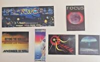 RAVE Flyers METAMORPHOSIS, NEBULA, UNDERWORLD, FOCUS, FUNKY PLANT (LOT 119)