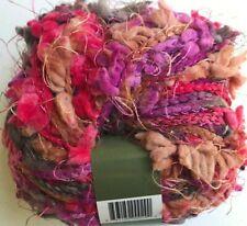 Filati Ff Panache Yarn Skein #08 Purple Pink Grey Tan Novelty Flag Italy Fff