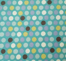 What Little Boys Are Made Of Bethany Shackelford QT BTY Blue Green Dots on Blue