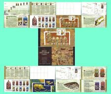 SOUTH AFRICA 1998 EARLY SA HISTORY BOOKLET COMPLETE SETS POSTCARDS 0246FDC