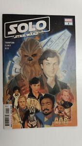 STAR WARS SOLO ADAPTATION #1 1st Printing                   / 2018 Marvel Comics
