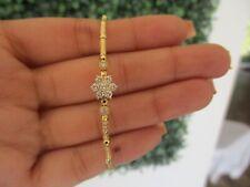.36 CTW Diamond Bracelet 18k Yellow Gold B47 sep