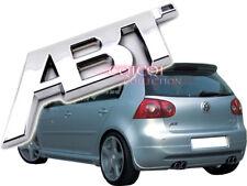 Silver Chrome ABT emblem sticker for VW Golf Lupo Polo Passat CC Scirocco Jetta◎