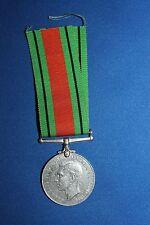 "Original WW2 British ""The Defence Medal 1939-1945"" with Original Ribbon"