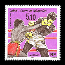 SPM 1996 - Boxing on St. Pierre and Miguelon Sports - Sc 624 MNH