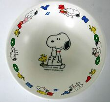 """RICHELL Japan Peanuts Collectible Children's Plastic SNOOPY CLOCK 6.5"""""""