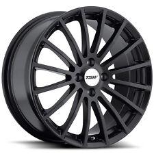 19 inch 19x9.5 TSW MALLORY Matte black wheel rim 5x112 +53