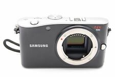 Samsung EV-NX100 14.6 MP Digital Camera BLACK - BODY ONLY W/ BATTERY AND CHARGER