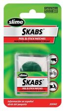 Slime Skabs Glueless Patch Kit 6-Pack with scuffer and carrying case