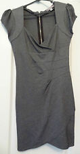 Ladies Grey And Black Dress Size Small Temt