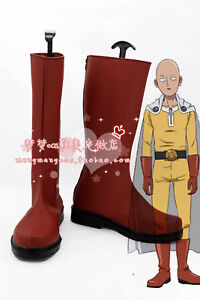 ONE PUNCH-MAN saitama Cosplay Shoes Boots