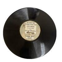 """Doles Dickens Quintette Your Fool Again 10"""" 78RPM Veri-Sound Studios Vinyl"""