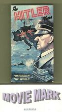 THE HITLER YEARS: TOMORROW THE WORLD 1987 (American Video) Nazi World War II vhs