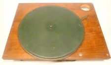 vIntage *  RCA RADIOLA 67:  EXCELLENT WORKING ELECTRIC TURNTABLE w/ PLATTER