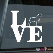 Love Cane Corso Sticker Die Cut Vinyl - park v2