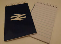 BR BRITISH RAIL NOTEPAD NEW NOTEBOOK BOOK TRAINSPOTTING RAILWAY ENTHUSIAST BOOK