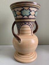 More details for edith gater art deco tubelined vase rare