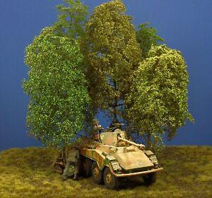 Diorama Zubehör, Modellbaum Gruppe, 25 - 30 cm hoch