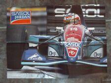 "22"" x 16"" POSTER - F1 - SASOL JORDAN 1994"