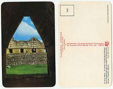 28513-Uxmal-ARCO Maya-Casa de las Monjas-Messico-vecchia cartolina