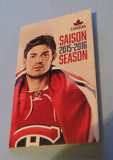 MONTREAL CANADIENS CAREY PRICE 2015-2016 MINI GAME CALENDAR MOLSON CANADIAN
