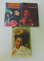 Aretha Franklin 3 Cassette Singles Gimmie Your Love A Rose... Willing to Forgive