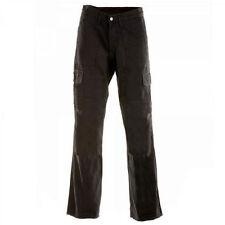 Pantalons noirs en kevlar pour motocyclette