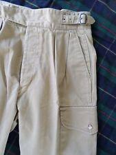 POLO RALPH LAUREN true vintage USA tan khaki safari high waist shorts 32