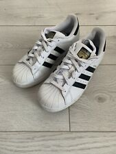 Adidas Superstars Black And White Size Uk 6