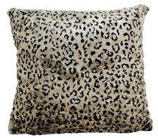 Kissen Kunstfell Fell Leopard edel 45x45 cm (24364w) Dekokissen Deko Fellkissen