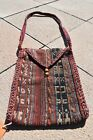 1900's ANTIQUE EXCEPTIONAL 9'' X 12'' CAUCASIAN KILIM BAG RUG WITH GREAT COLORS