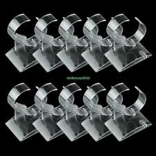 10x Shop Retail Clear Plastic Watch Bracelet Display Stand Rack Holder Showcase