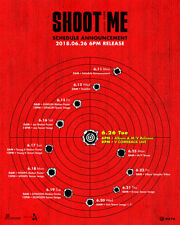 DAY6 - Shoot Me : Youth Part 1 [A+B ver. SET] 2CD+2Poster+Gift+Tracking no