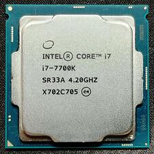 Intel Core i7-7700K 4.2GHz Quad-Core Desktop Processor