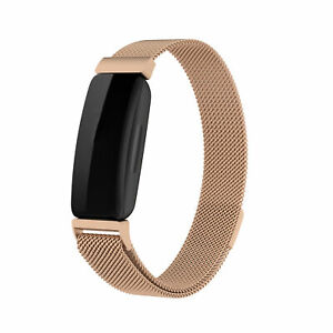 Metal Replacement Wrist Band For Fitbit inspire 2 Bracelet Watch Fitness Strap
